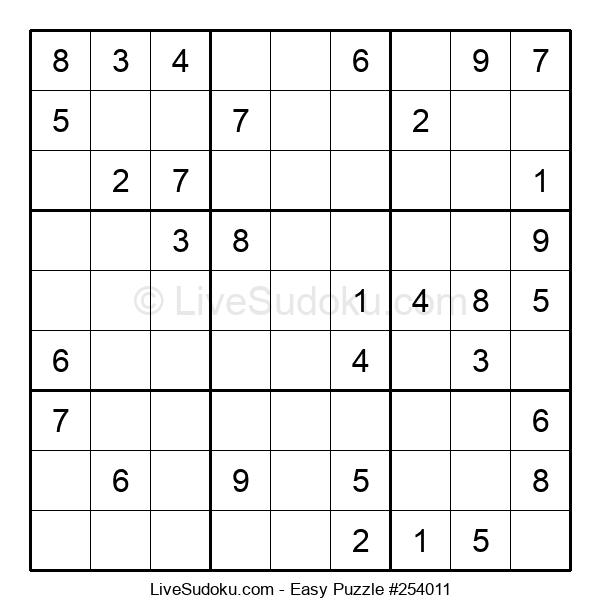 Beginners Puzzle #254011