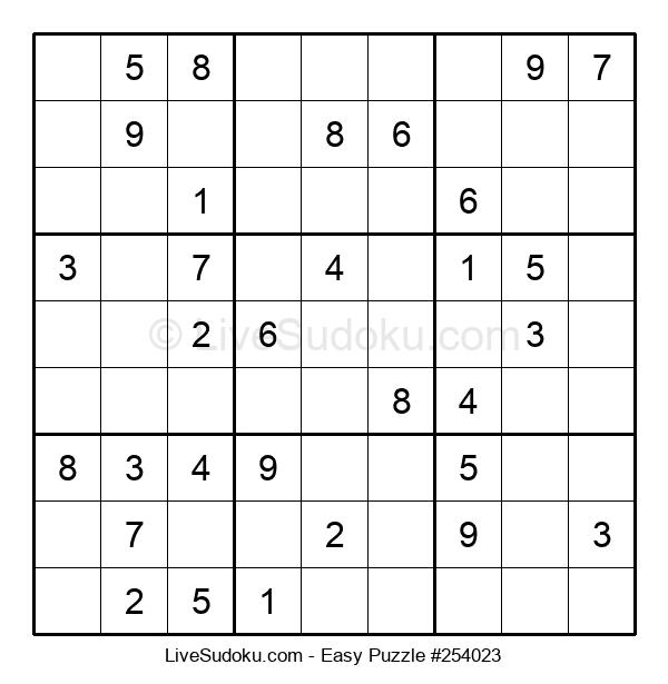 Beginners Puzzle #254023