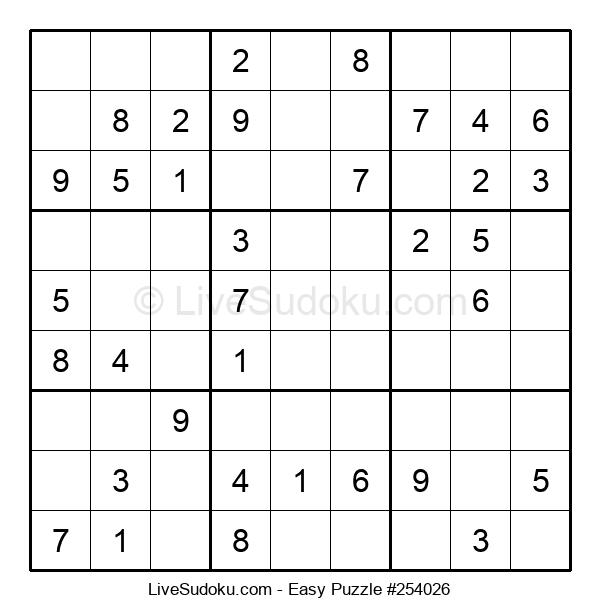 Beginners Puzzle #254026