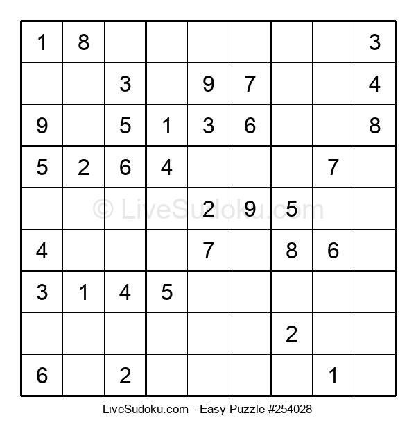 Beginners Puzzle #254028