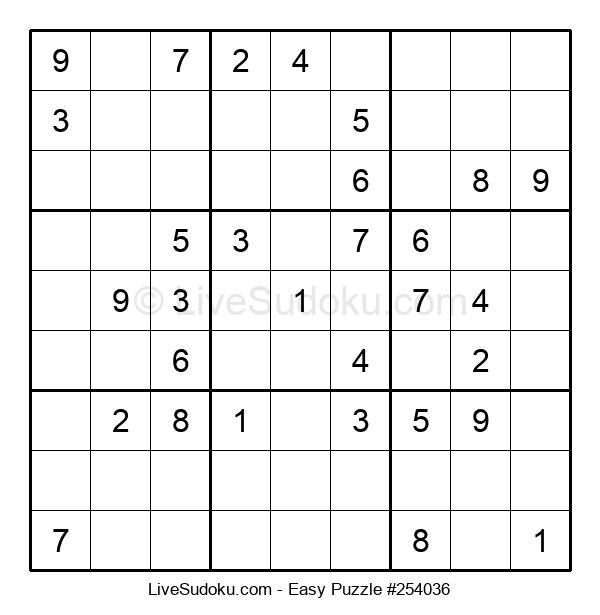 Beginners Puzzle #254036