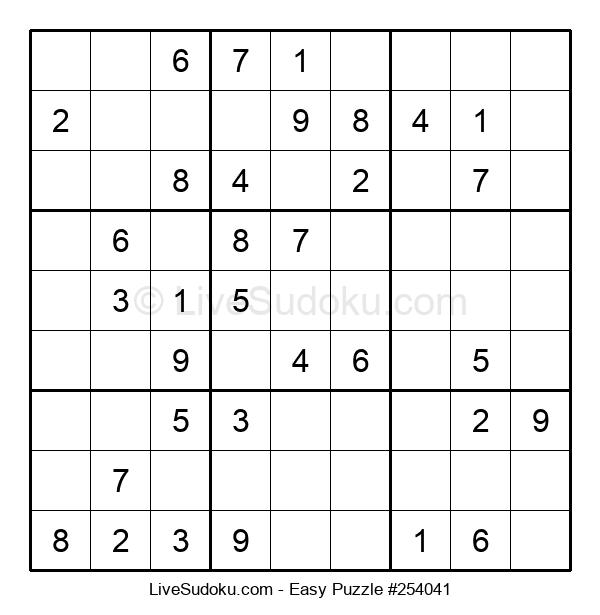 Beginners Puzzle #254041