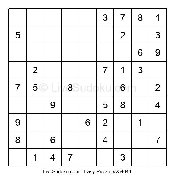 Beginners Puzzle #254044