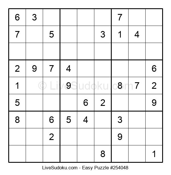 Beginners Puzzle #254048