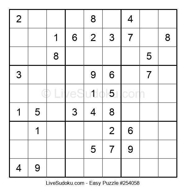 Beginners Puzzle #254058