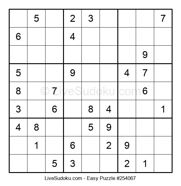 Beginners Puzzle #254067