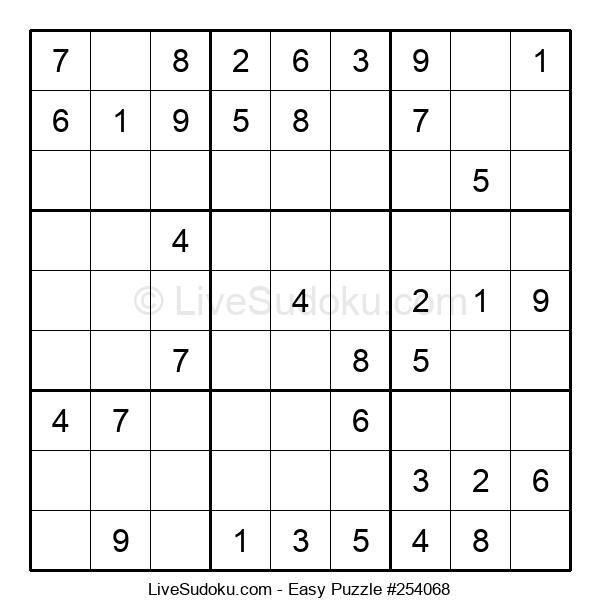 Beginners Puzzle #254068