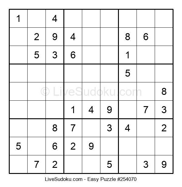 Beginners Puzzle #254070