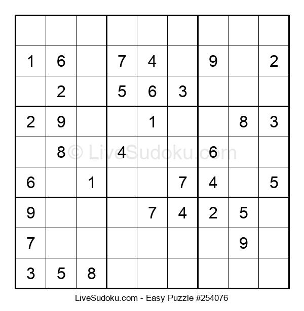 Beginners Puzzle #254076