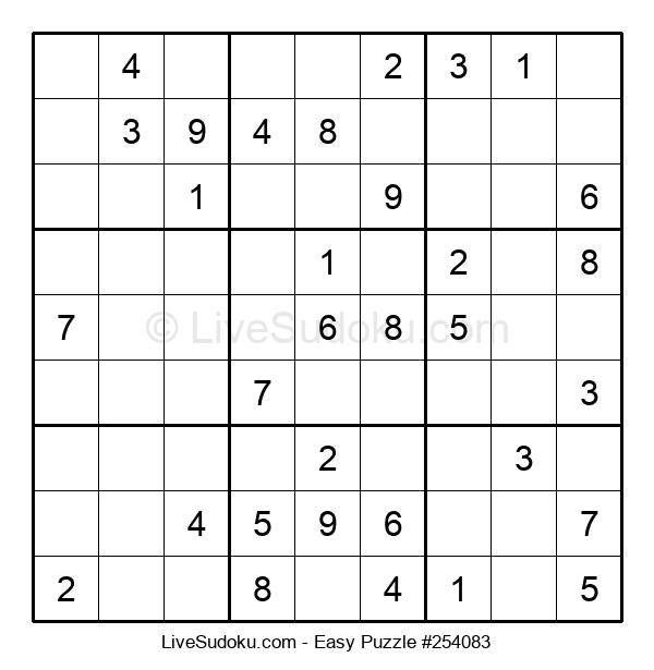 Beginners Puzzle #254083