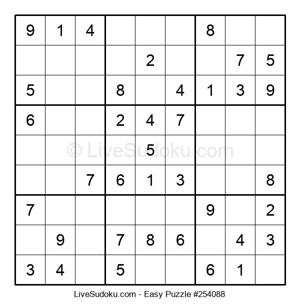 Beginners Puzzle #254088