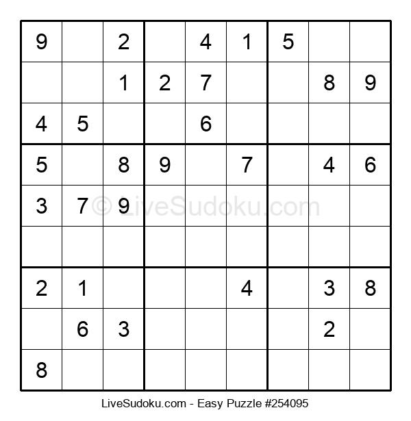 Beginners Puzzle #254095