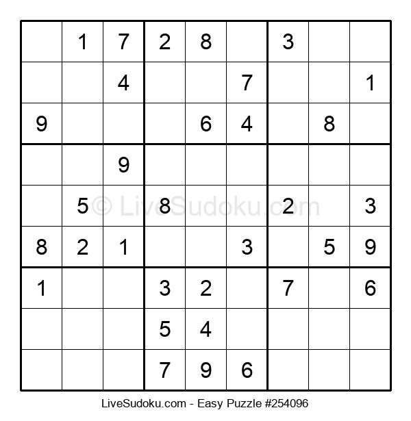 Beginners Puzzle #254096