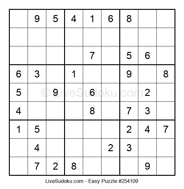 Beginners Puzzle #254109