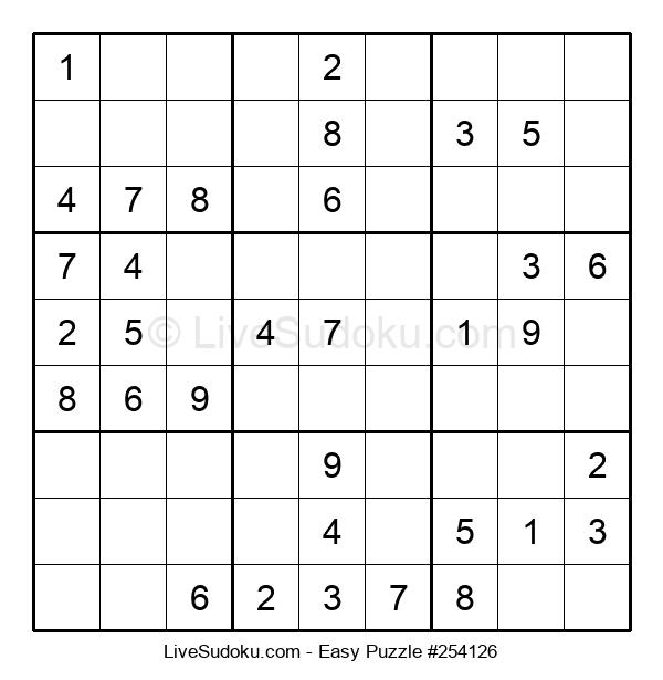Beginners Puzzle #254126