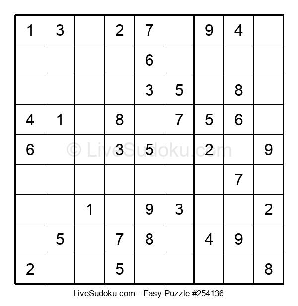 Beginners Puzzle #254136