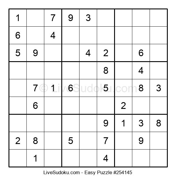 Beginners Puzzle #254145