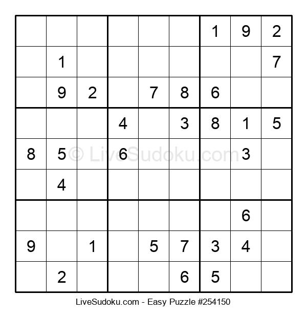 Beginners Puzzle #254150