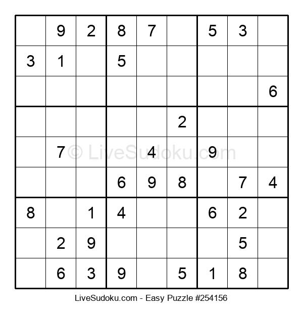 Beginners Puzzle #254156