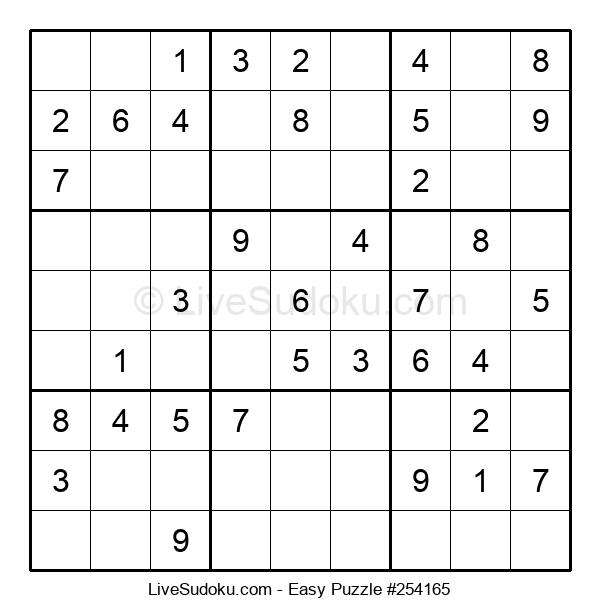 Beginners Puzzle #254165
