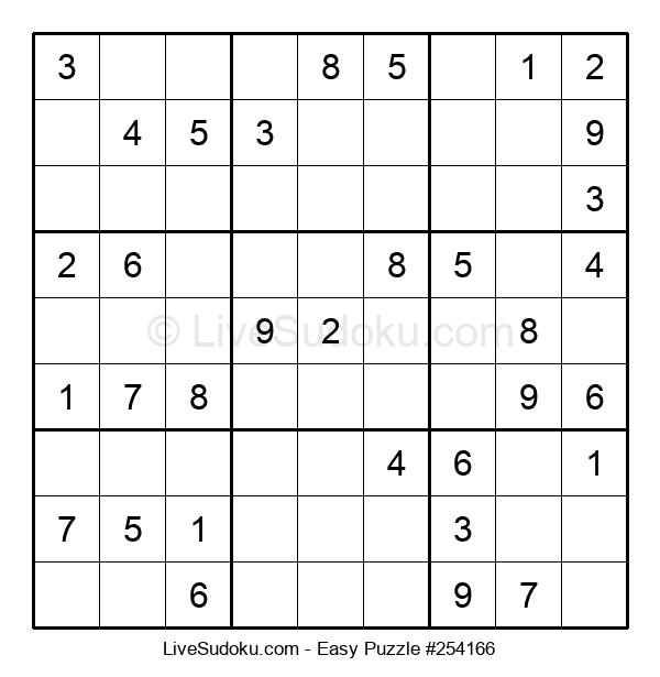 Beginners Puzzle #254166