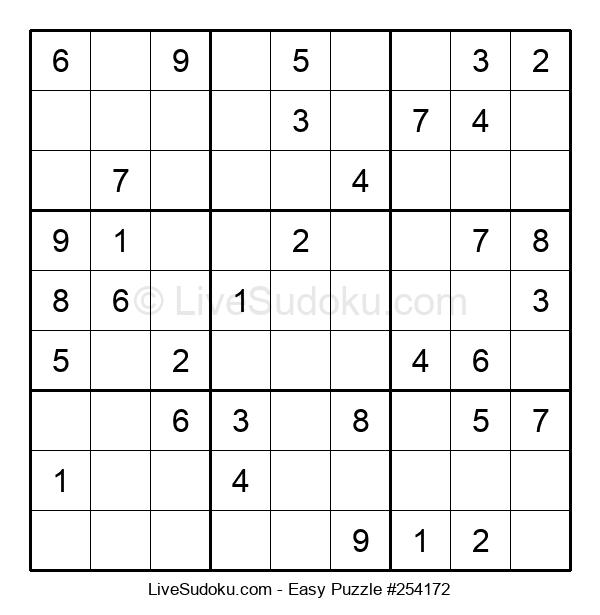 Beginners Puzzle #254172