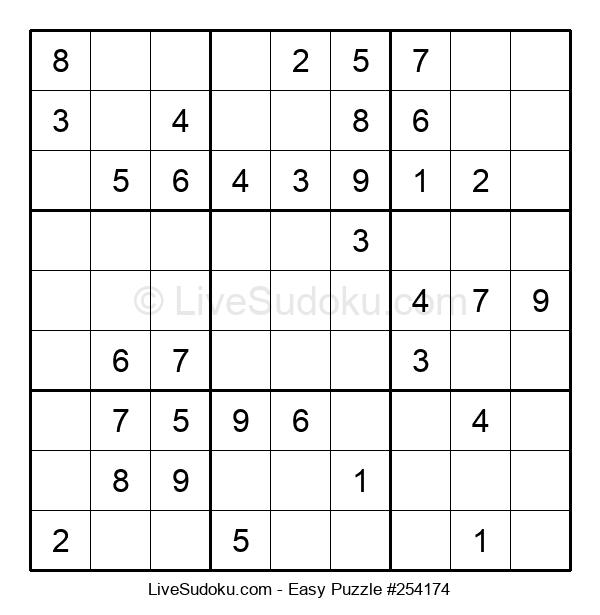 Beginners Puzzle #254174