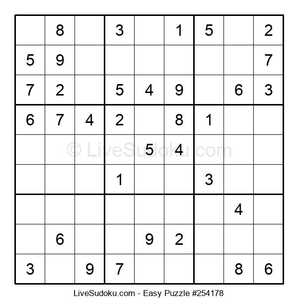Beginners Puzzle #254178
