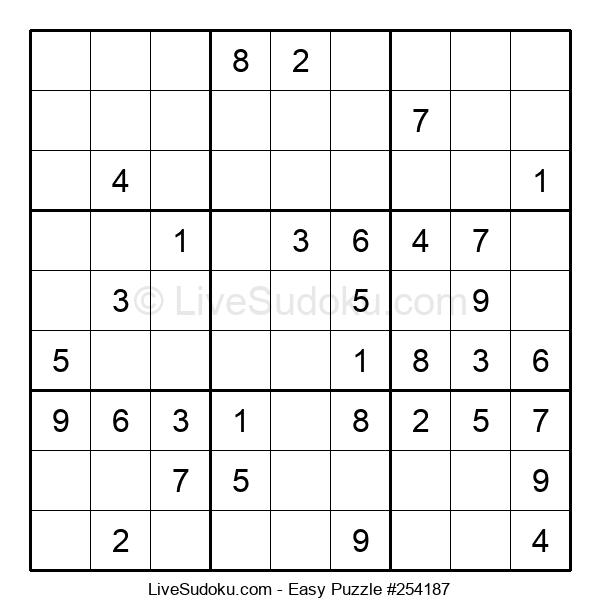 Beginners Puzzle #254187