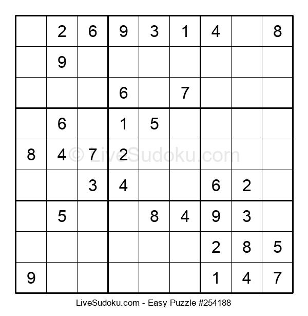Beginners Puzzle #254188