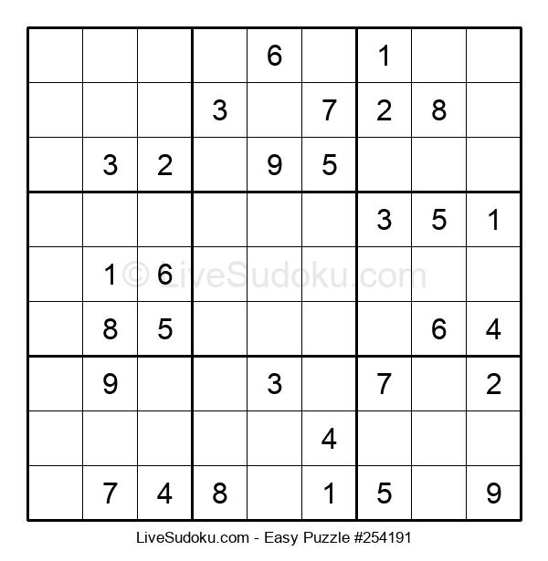 Beginners Puzzle #254191