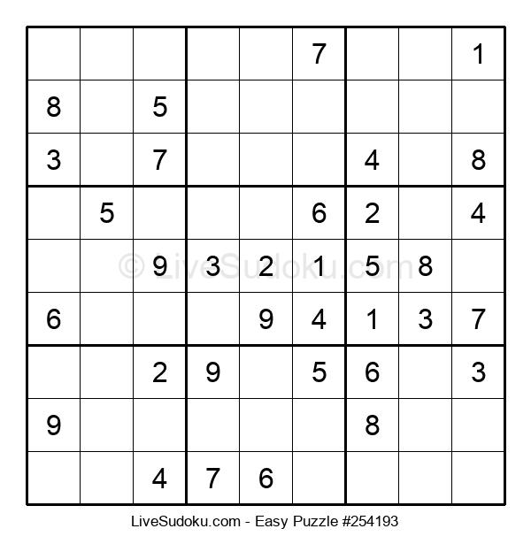 Beginners Puzzle #254193