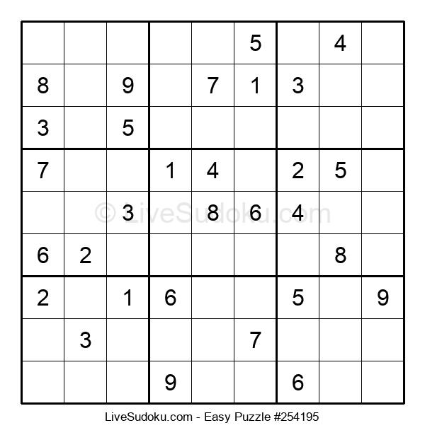 Beginners Puzzle #254195