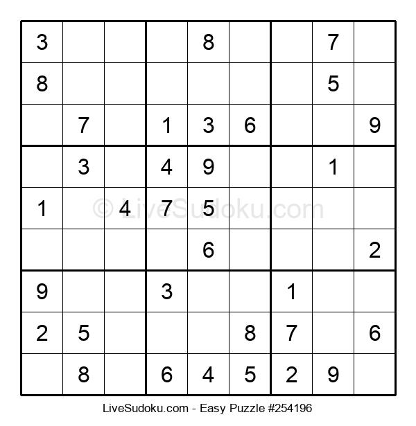 Beginners Puzzle #254196