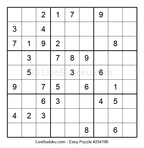 Beginners Puzzle #254199
