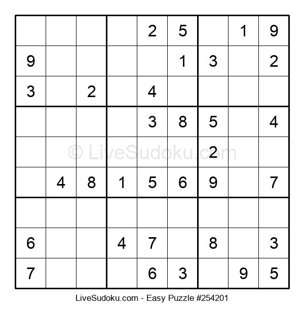 Beginners Puzzle #254201