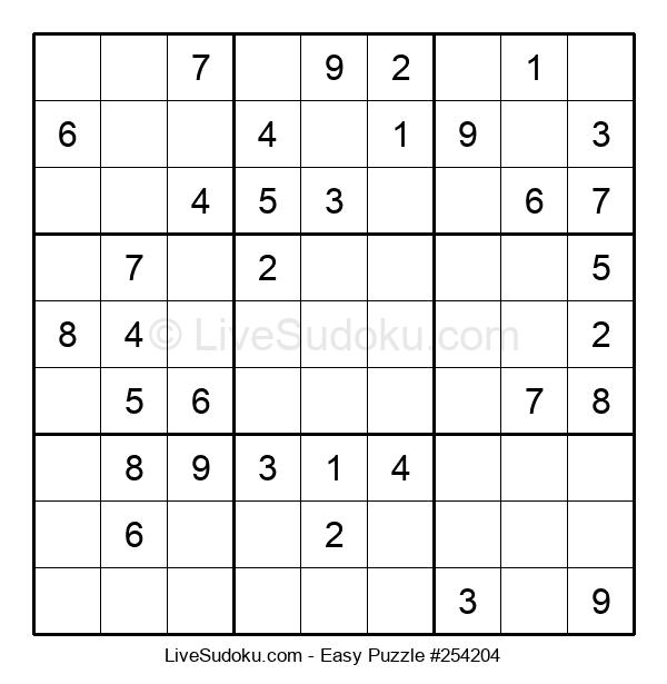 Beginners Puzzle #254204