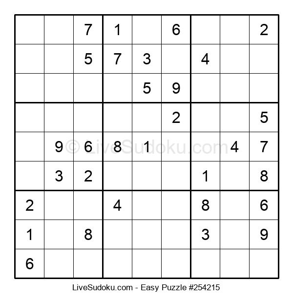 Beginners Puzzle #254215