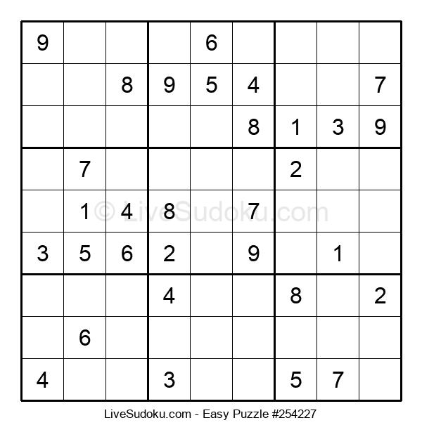Beginners Puzzle #254227