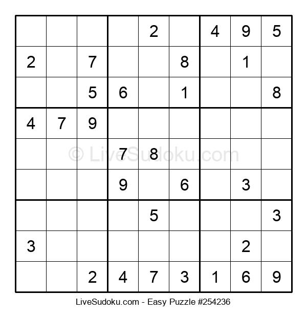 Beginners Puzzle #254236