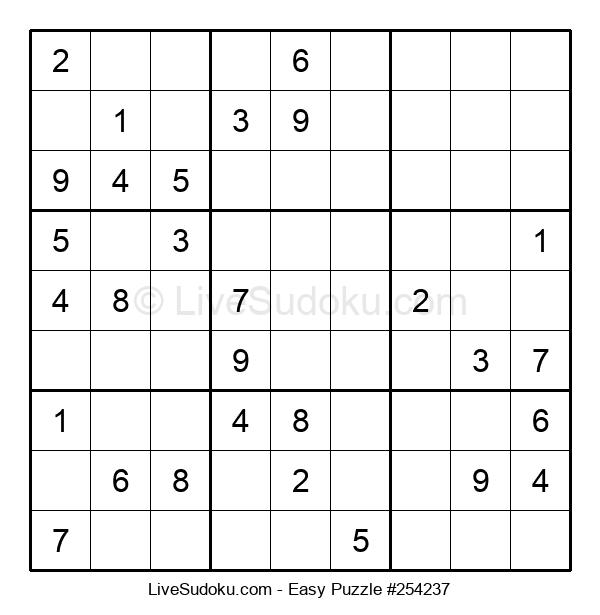 Beginners Puzzle #254237