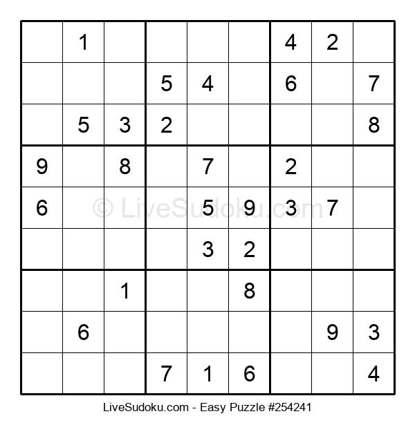 Beginners Puzzle #254241