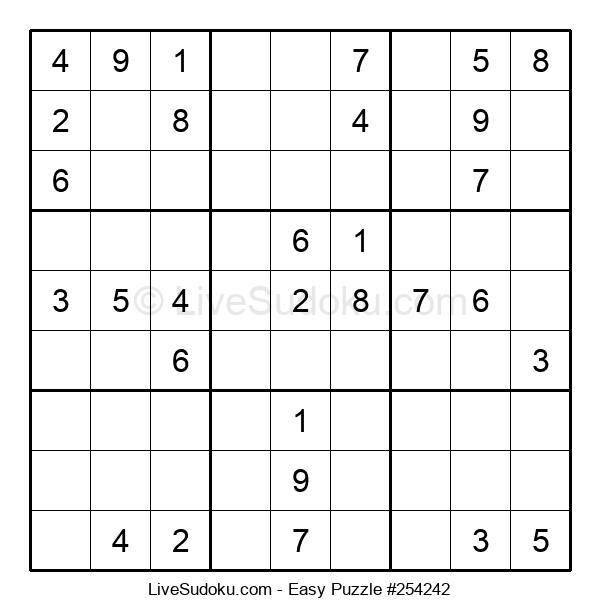 Beginners Puzzle #254242