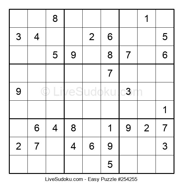 Beginners Puzzle #254255