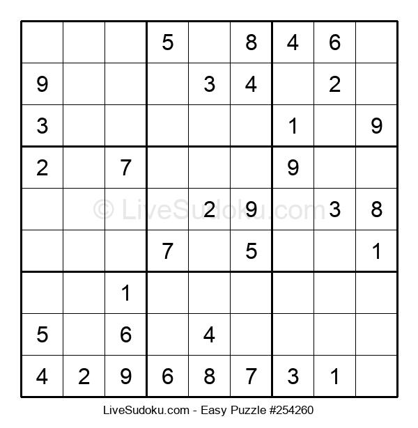 Beginners Puzzle #254260