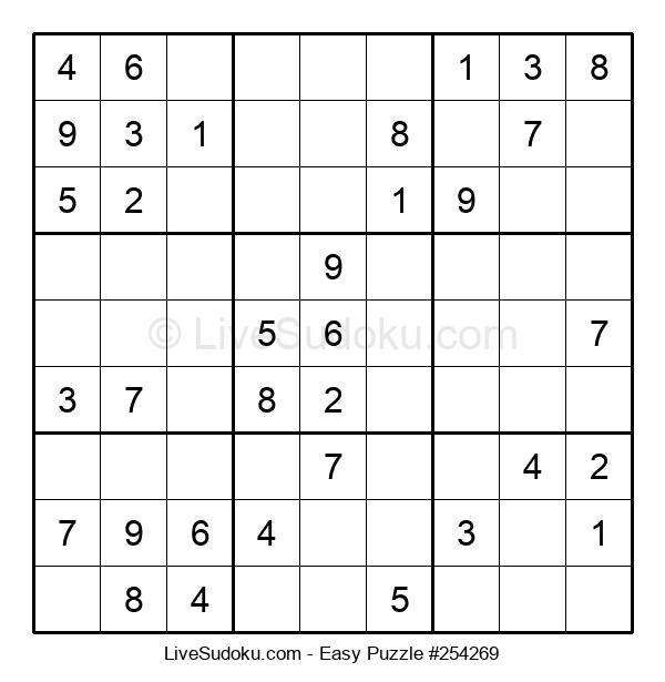 Beginners Puzzle #254269