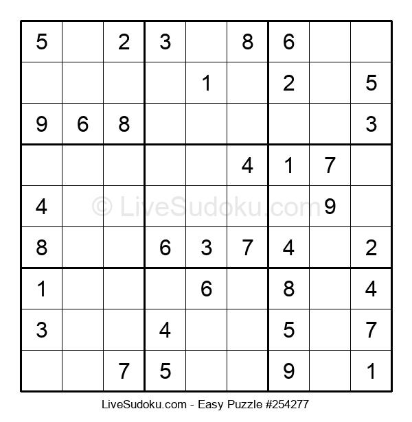 Beginners Puzzle #254277