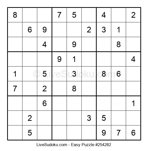Beginners Puzzle #254282