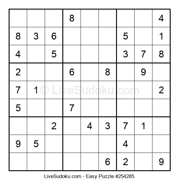 Beginners Puzzle #254285