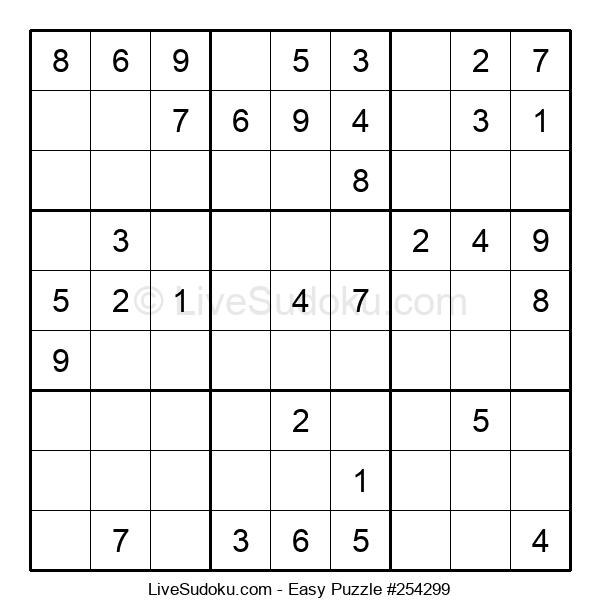Beginners Puzzle #254299